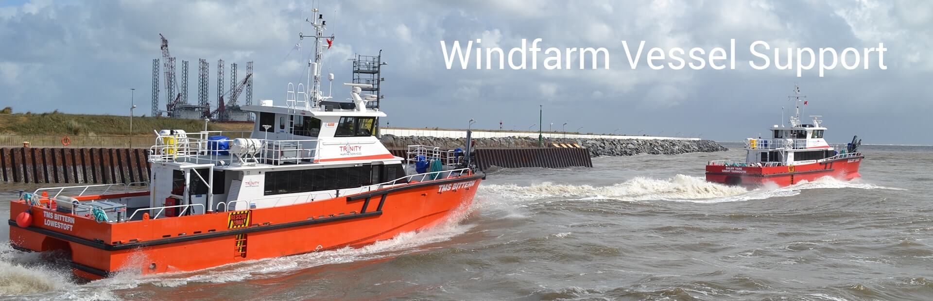 Windfarm Vessel Support