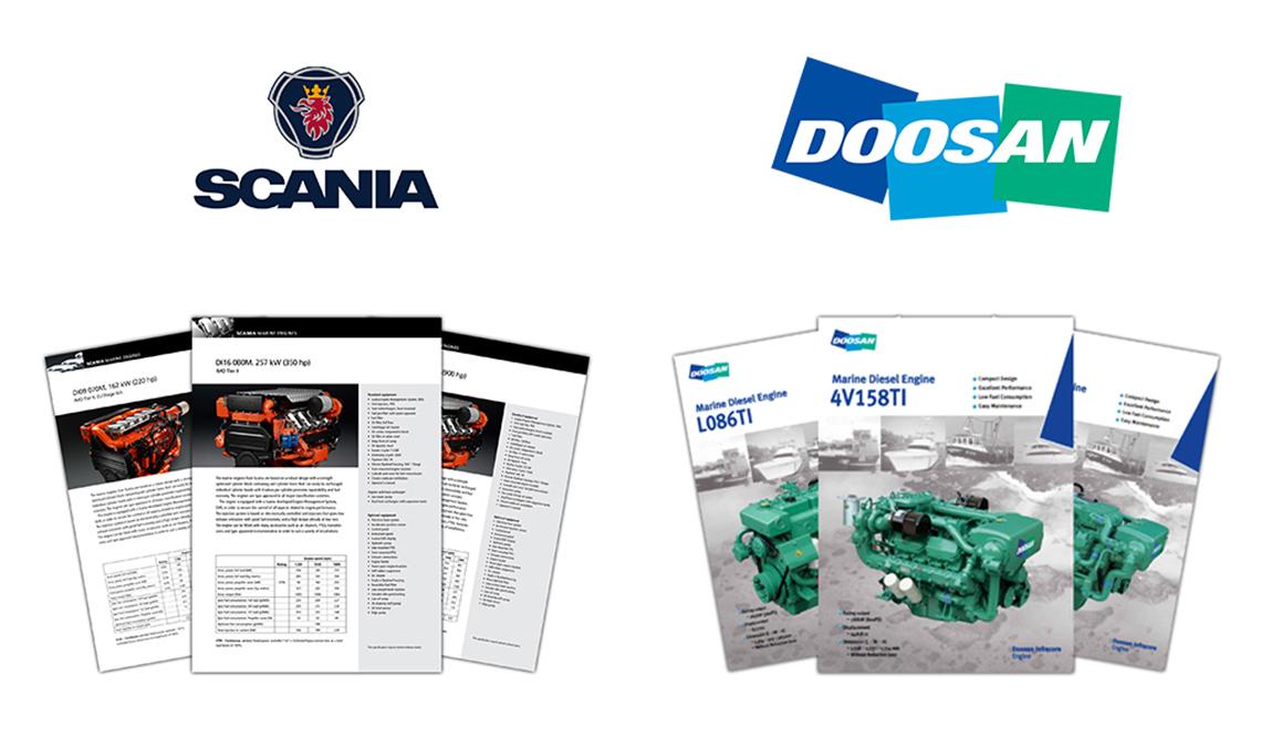 Scania & Doosan Engine Selector